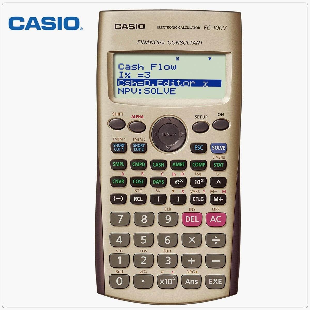 c4e9fdbabbdd calculadora financiera casio fc-100v en rosario! Cargando zoom.
