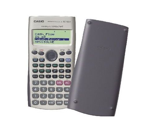 calculadora financiera casio fc-100v fc 100v cordoba