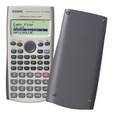 calculadora financiera casio fc-100v financial consultant