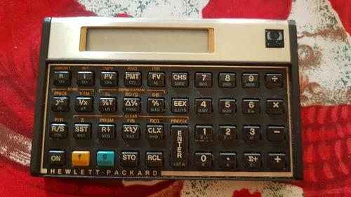 calculadora financiera, científica hewlett packard hp 12c