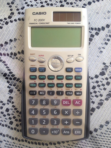 calculadora financiera fc-200v
