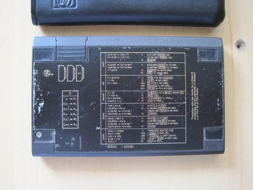 calculadora financiera hp 12c funciona con tapa pilas