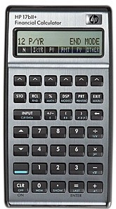 calculadora financiera hp 17bii + 250 funciones de negocios