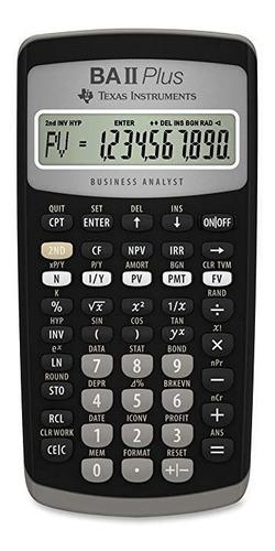 calculadora financiera texas instruments ba ii plus