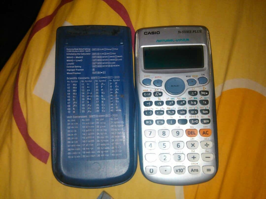 Calculadora Fx 570es Plus Bs 450000 En Mercado Libre Casio Scientific Calculator Cargando Zoom