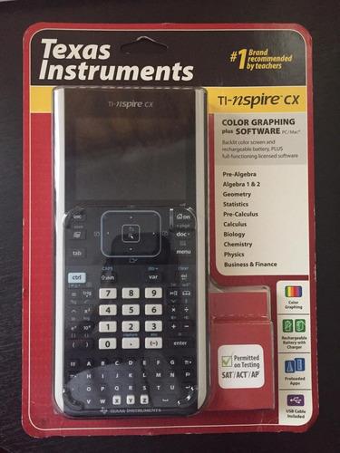 calculadora gráfica 3d texas tl-nspire cx