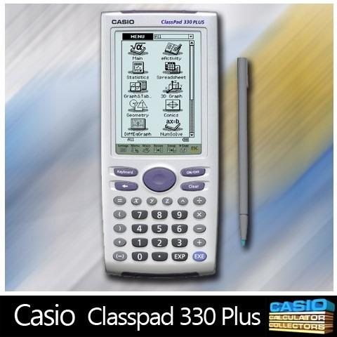 calculadora grafica casio classpad 330 plus nueva en caja