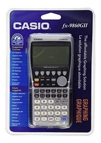 calculadora gráfica casio fx-9860gii usb selladas originales