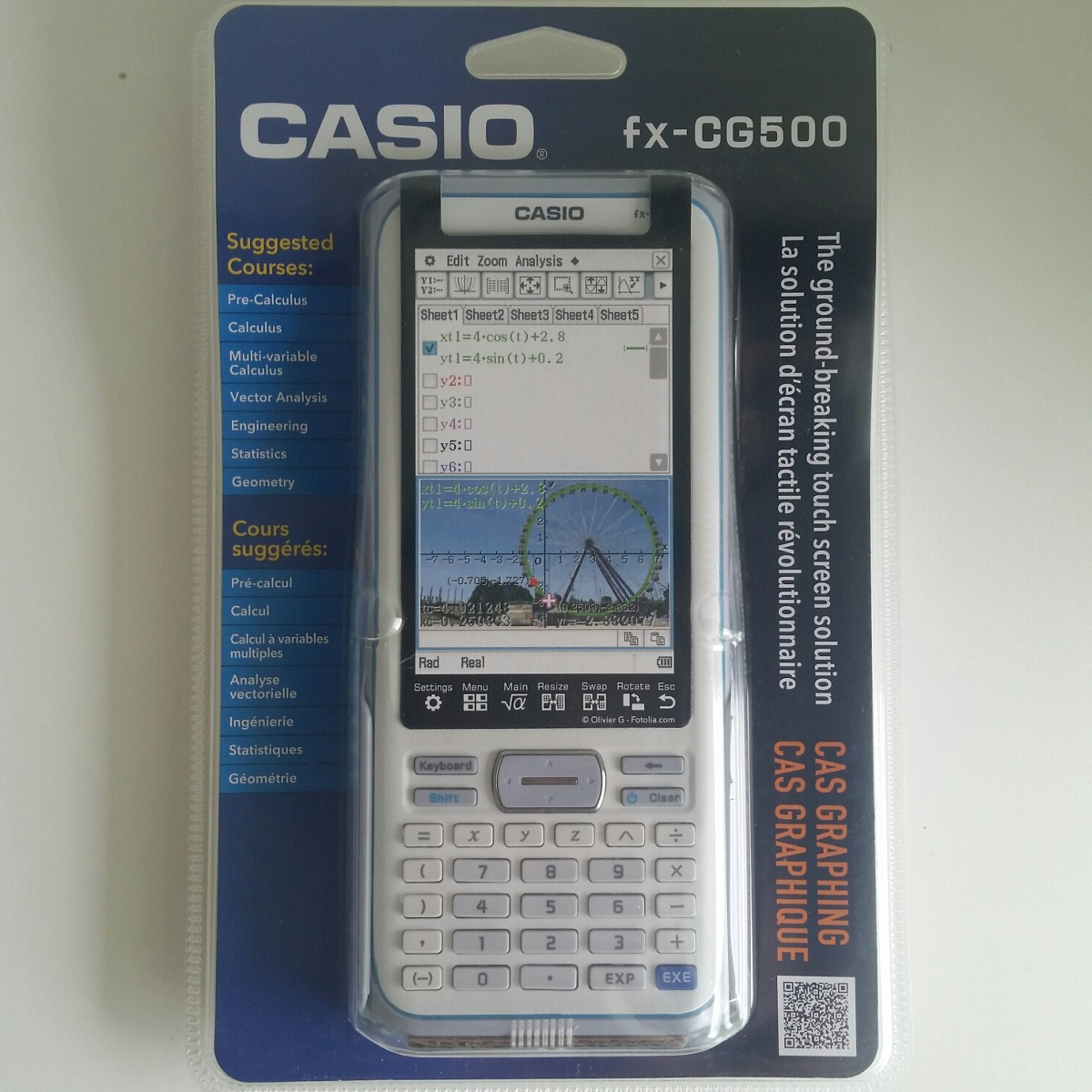 eacccd8f959 calculadora grafica casio fx cg 500. Carregando zoom.