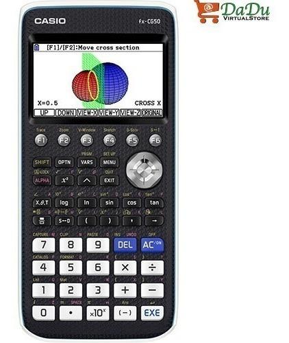 calculadora gráfica casio fx-cg50,en 3d,bachillerato interna