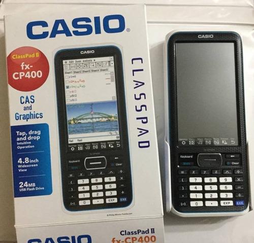 calculadora grafica casio fx-cp400+nuevo tienda fisica