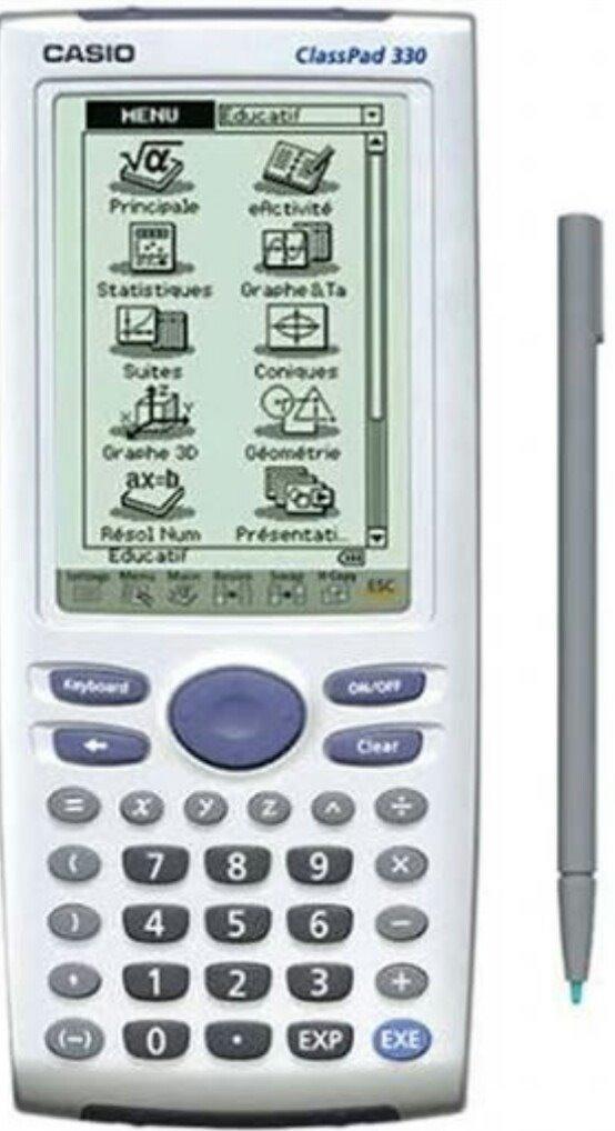 8cbebb0ab5f Calculadora Gráfica Casio Pad 330 - R  298