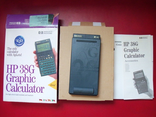 calculadora grafica hp 38g