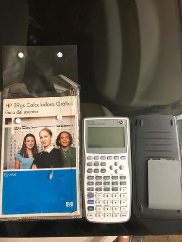 calculadora gráfica hp 39 gs