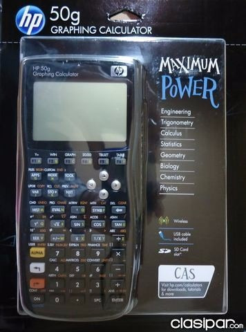 calculadora grafica hp 50 g sellada