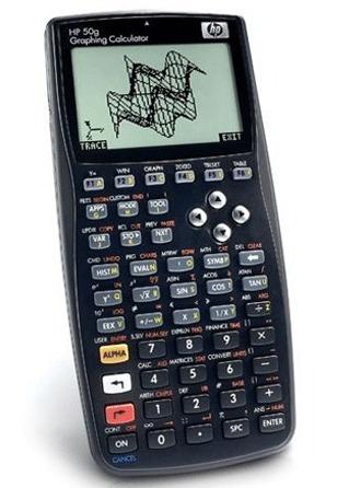 calculadora gráfica hp 50g português lacrada - frete grátis