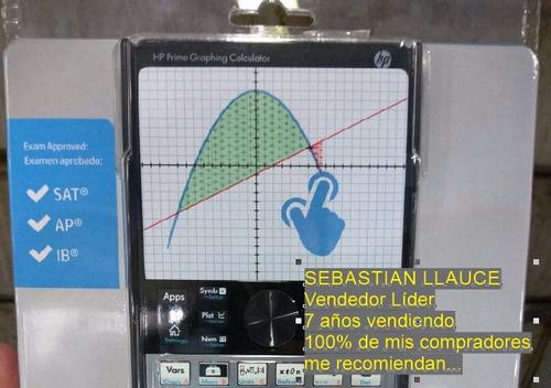 calculadora grafica hp prime importada - g8x92aa - 2016