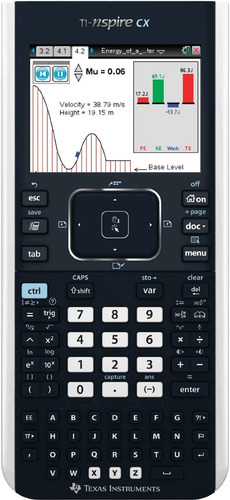 calculadora grafica texas instruments t-inspire cx sellada