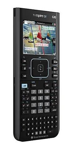 calculadora gráfica texas t-inspire cx cas/ batería recarg
