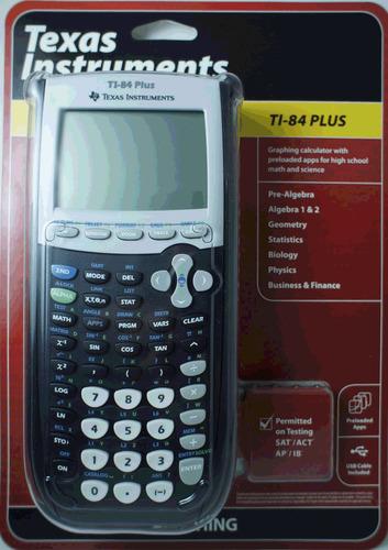 calculadora grafica texas ti-84 plus bachillerato colegios