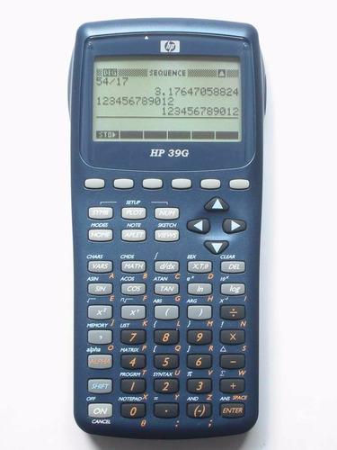 calculadora graficadora 39g