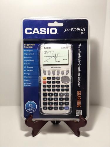 calculadora graficadora casio fx-9750 gii nuevas selladas