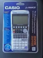calculadora graficadora casio fx-9860 gii nuevas selladas