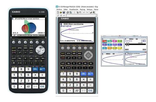 calculadora graficadora casio fx-cg50 + emulador