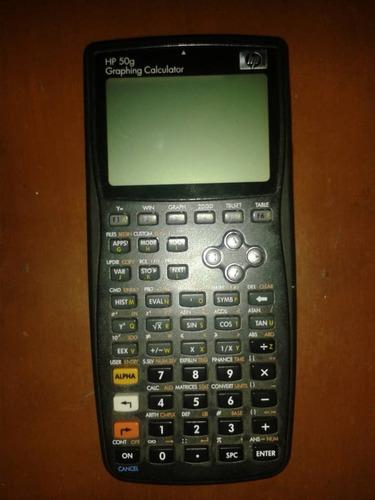 calculadora graficadora científica hp 50g