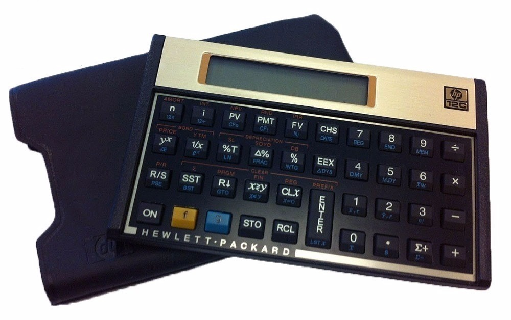 calculadora hp 12c gold financeira original capa de couro r 219 rh produto mercadolivre com br HP 12C Tutorial HP 12C Calculator