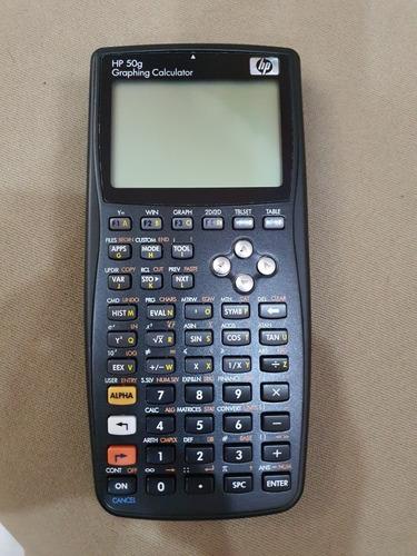 calculadora hp 50g graphing calculator. cna14300pd. estuche