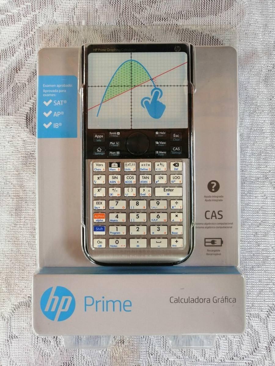 Calculadora Hp Prime G2 2ap18aa Gráfica Táctil 2018