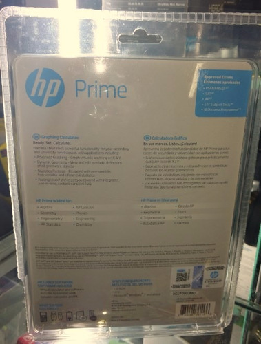 calculadora hp prime v2 - g8x92aa lote 2017 / nuevo sellado