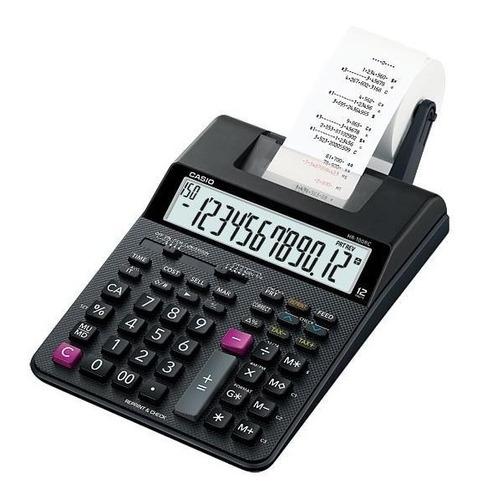 calculadora impresora casio hr150rc 12 dígitos 2 colores