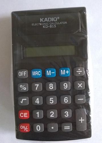calculadora kadio 8 digitos