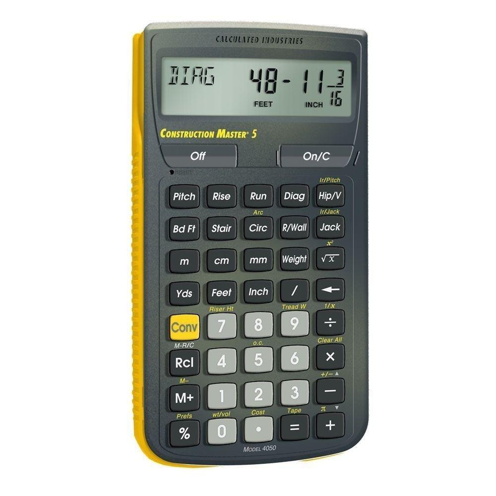 Calculadora Matemática De Construccion Master 5 Industries ...