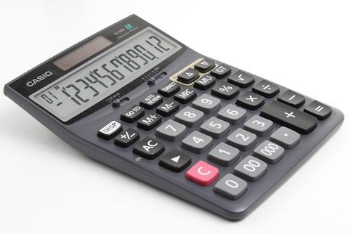 calculadora mesa casio dj-120d 12 digitos solar revision dat