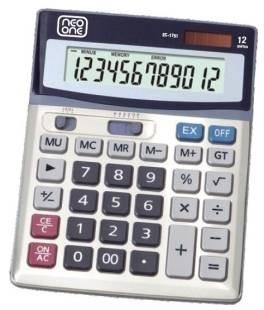 calculadora neo one 1751 12 digitos solar y bateria