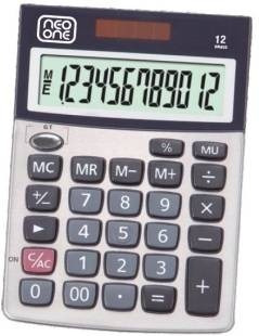 calculadora neo one 1752 12 digitos solar y bateria