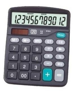 calculadora neo one 837b 12 digitos solar y bateria x 10unid