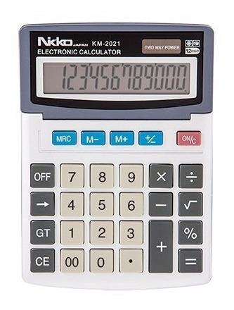 calculadora nikko km-2021