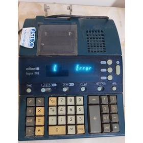 Calculadora Olivetti Logos 582. A Reparar