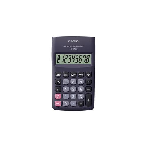 calculadora portátil casio hl-815l-bk negro