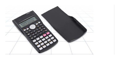 calculadora preta idea eletrônica cientifica modelo id-8267c