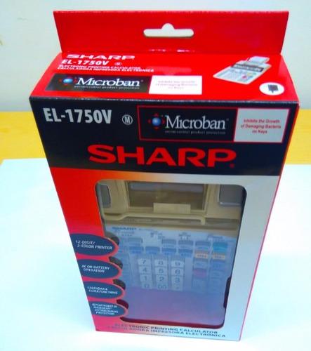calculadora sharp el-1750v 110 volts