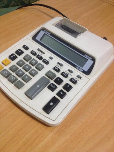 calculadora sumadora canon p120-dh
