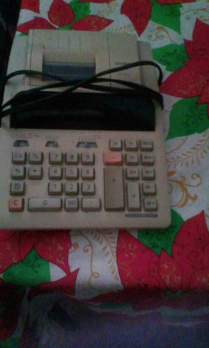 calculadora sumadora casio