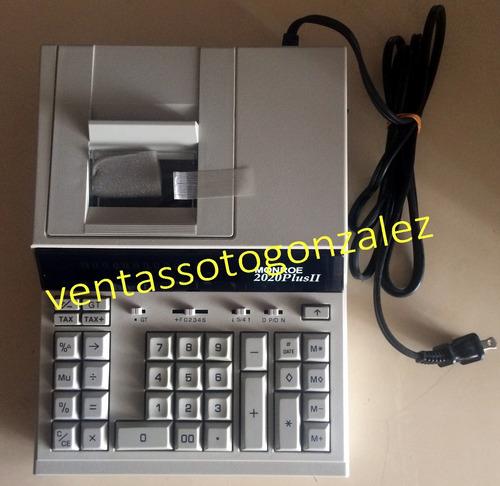 calculadora sumadora monroe 14 dígitos (5v)