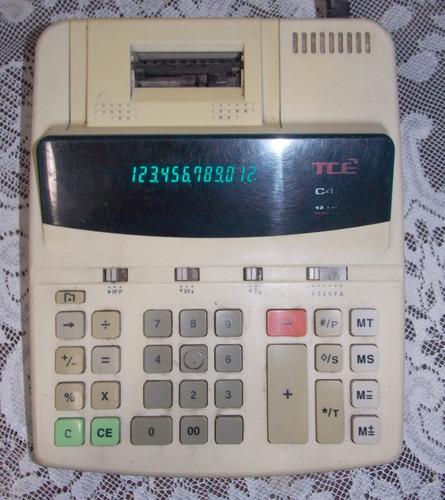 calculadora tcê modelo c-410/-c420