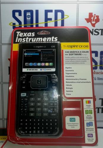 calculadora texas instruments nspire cx cas español